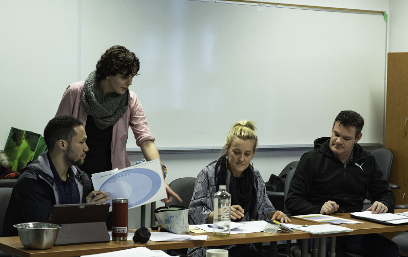 SRE shares approaches with Doctoral Students in workshop